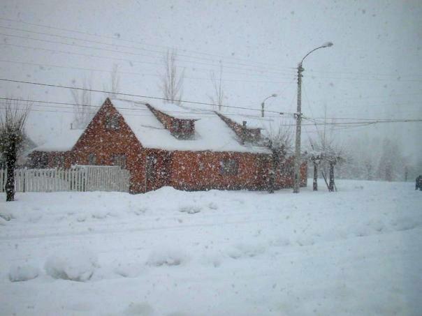El invierno cae sobre Lonquimay | Edgardo Saavedra