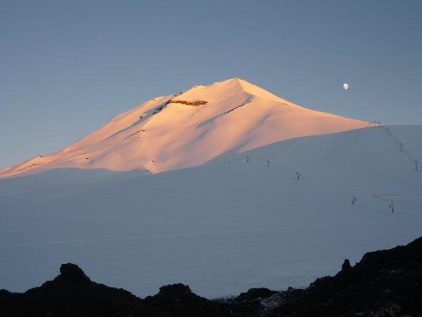 Volcán Lonquimay... dormido | Edgardo Saavedra