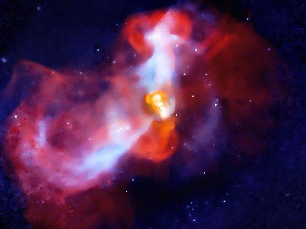 Fotografia Erupcion Galactica