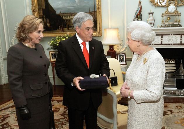 Encuentro entre Presidente Piñera y Reina Isabel II | www.fotopresidencia.cl