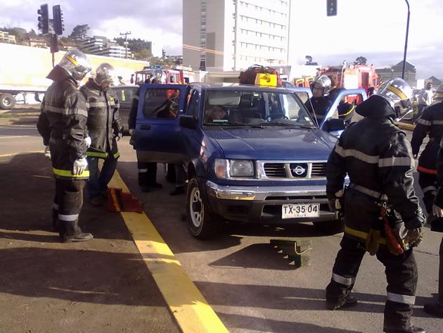 Accidente frente a Mall Plaza en Concepción | Pablo Alvear