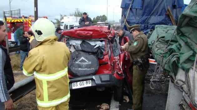 Accidente en Curicó | Marco Andrés Díaz
