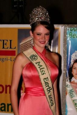 Alexandra Braun Waldeck | Miss Earth 2008 | Wikipedia
