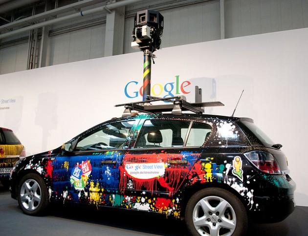 Automóvil Google StreetView | Patrick H. en Flickr