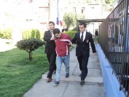 Detención de Sebastián Cabezas