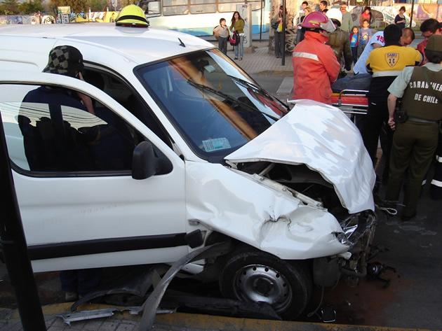Accidente de tránsito | Pablo Muñoz Illanes