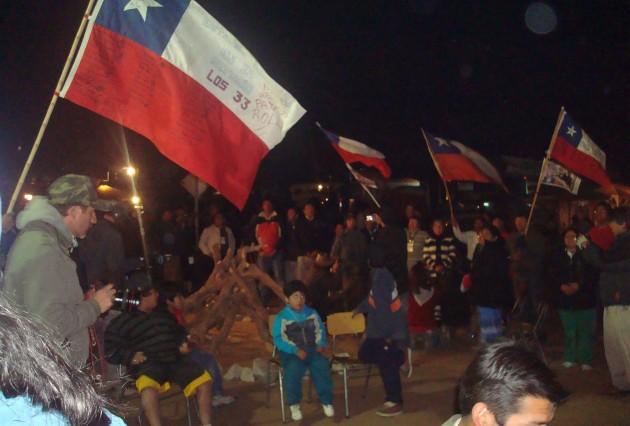 Vigilia en Mina San José | César Malermo