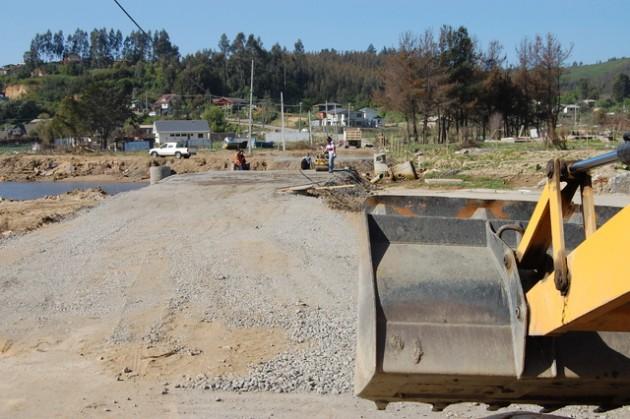 Preparan terreno para instalar puente | Dichatoaldía.cl