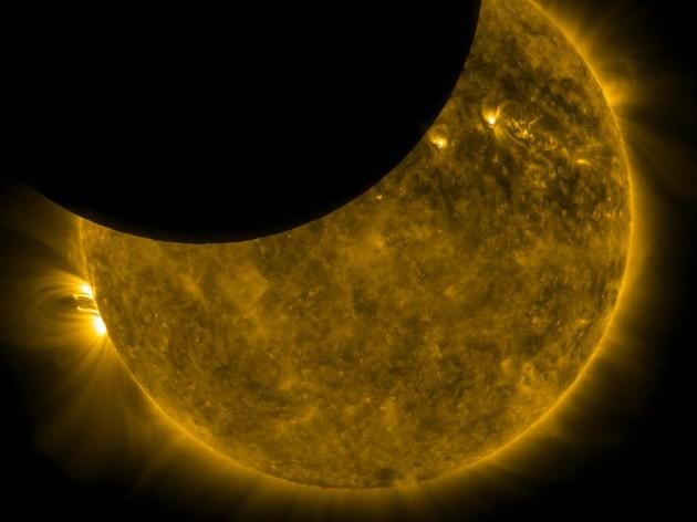 Eclipse Solar Espacial   NASA