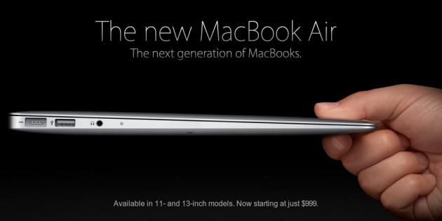 El nuevo MacBook Air | Apple