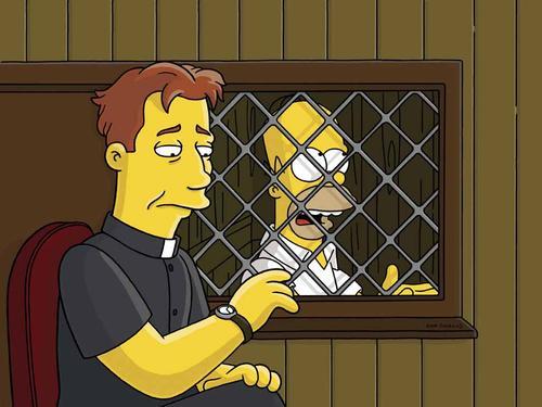 ¿Homero Simpson es católico?