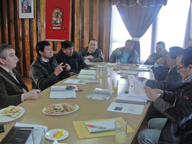 Concejo comunal de Seguridad Público |  El Dalcahuino