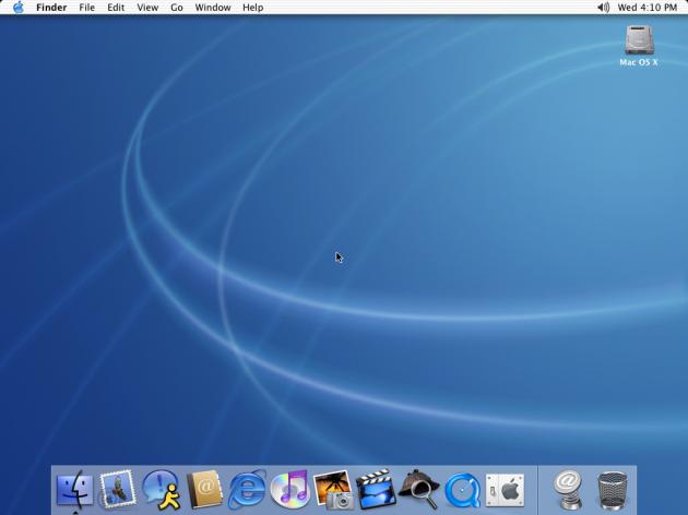 Mac OS X de Apple