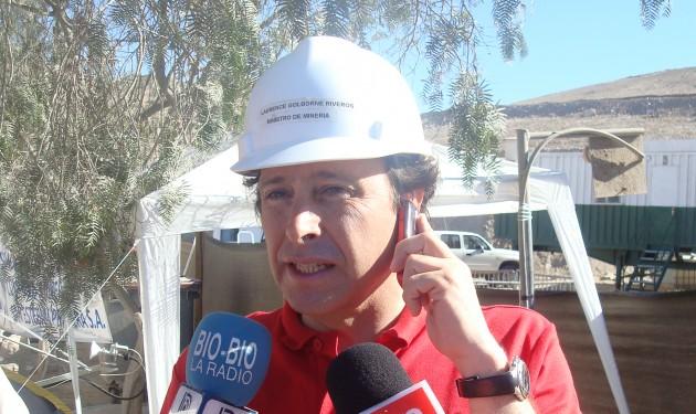 Ministro Golborne | Imagen: César Malermo