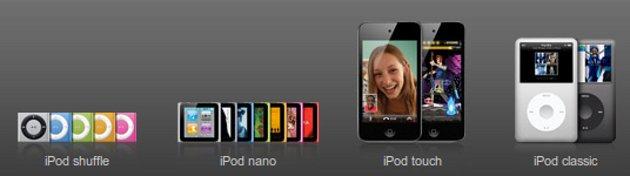 Modelos iPod | Apple