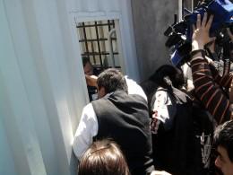 Incidentes tras la audiencia | Carlos Martínez