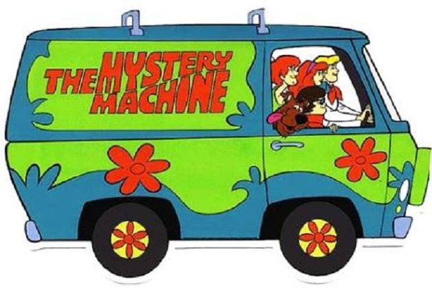 Mystery Machine en Scooby Doo