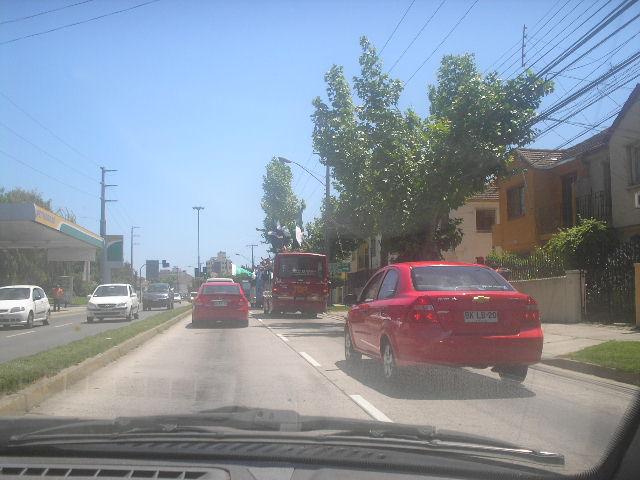 Barristas sobre el techo de un bus en movimiento | Carlos Terán