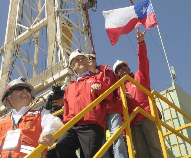 Presidente Piñera en el Yacimiento San José | fotopresidencia.cl