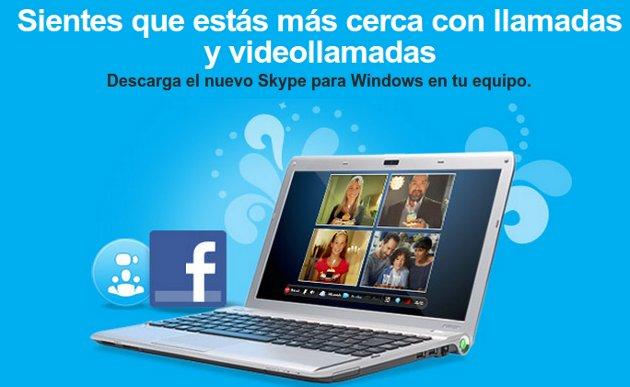 Skype y Facebook