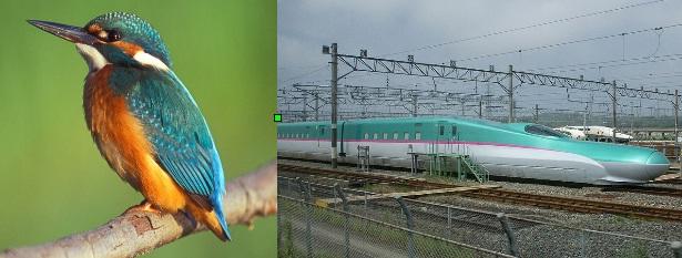 Tren Shinkansen y pájaro pescador   Wikipedia