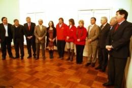 Autoridades firman acuerdo de reconstrucción | dichatoaldia.cl