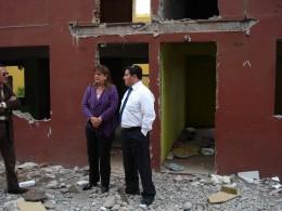 Departamentos destruidos | Foto: Luis Cabello