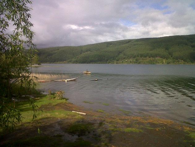 Puerto Choque - Lago Lleu Lleu | Néstor Aburto