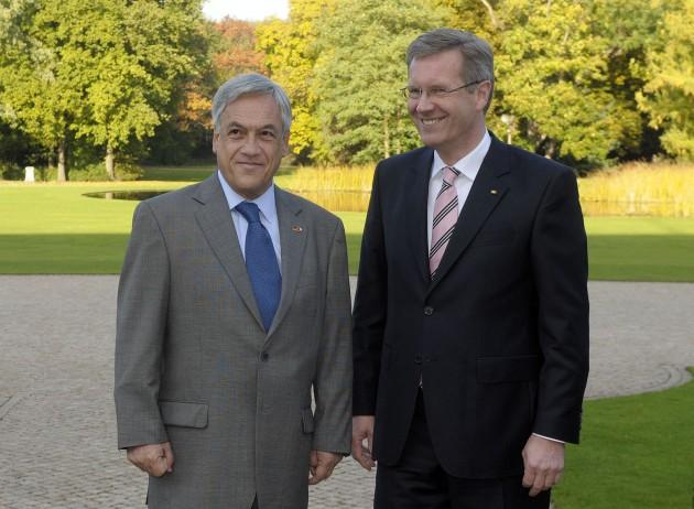 Presidentes de Chile y Alemania Federal | fotopresidencia.cl