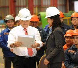 Piñera y Merino | FotoPresidencia.cl