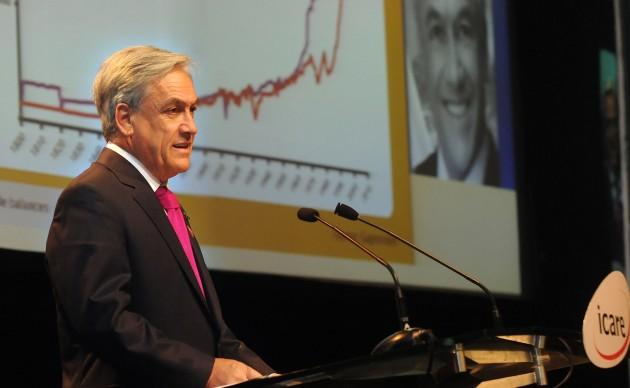 Sebastián Piñera en ENADE 2010 / Fotopresidencia