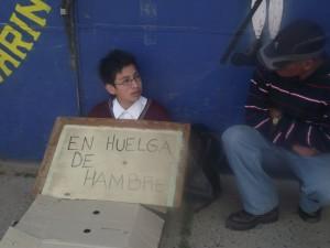 Niño en huelga de hambre | Revista Vía Norte