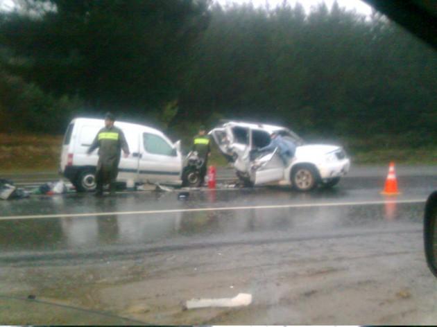 Accidente en Ruta del Itata | Pedro Cid