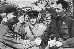 Brezhnev en 1942