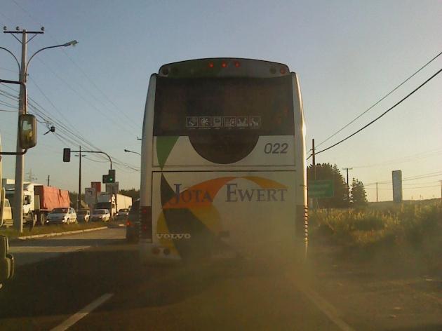 Así de seguro viaja usted en Buses Jota Ewert | Richard Sandoval M