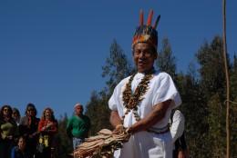 Indígenas llegan a la Región de Valparaíso