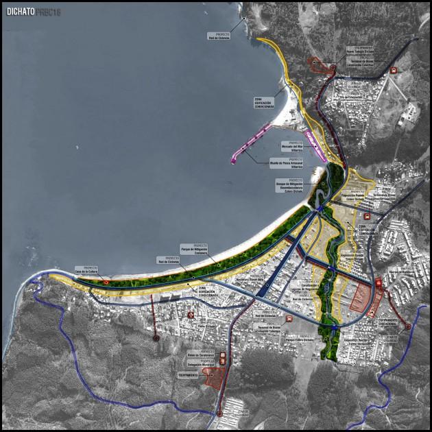 Plan de Reconstrucción de Dichato (Click para ampliar)