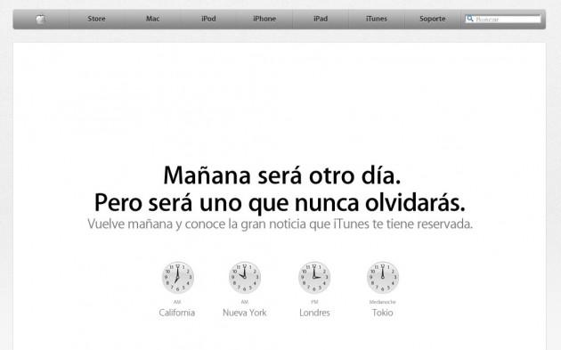 El anuncio de Apple