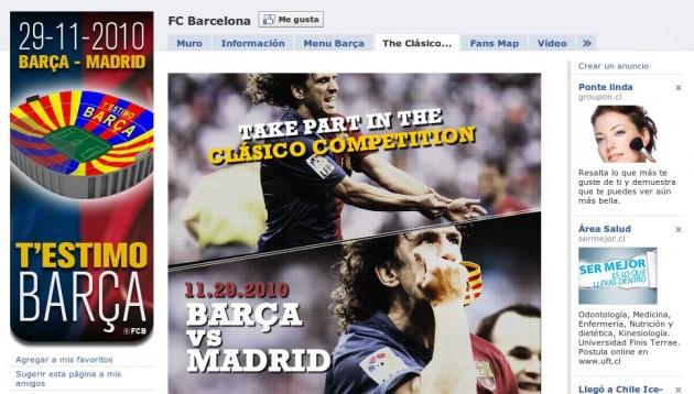 FC Barcelona en Facebook