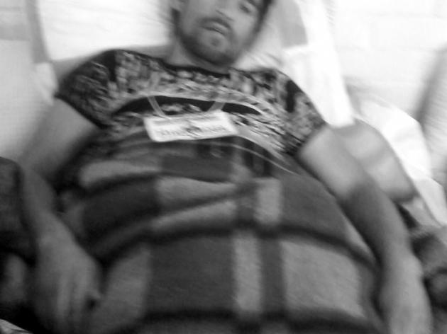 Huelguistas de Caimanes 67 dias sin comer | Alfonso O. Antiquera