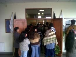 Familiares de los presos mapuche en Tribunal | Néstor Aburto