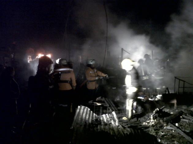 Incendio en Los Ángeles / Néstor Aburto