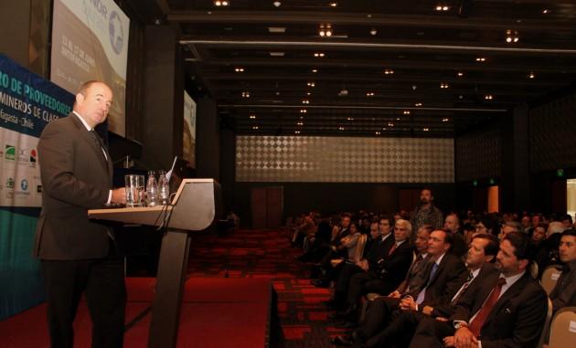 Presidente de Exponor 2011, Charlie Sartaín.