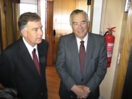 Raúl Celis y Juan Carlos Dorr