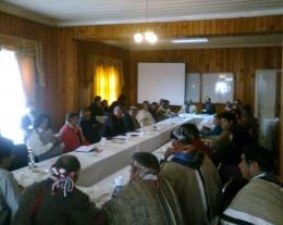 Mesa Indígena en Valdivia