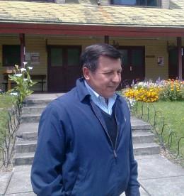 Alcalde Santiago Rosas / José Aedo