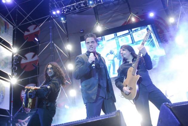 La Noche en plena Gira Teletón 2010