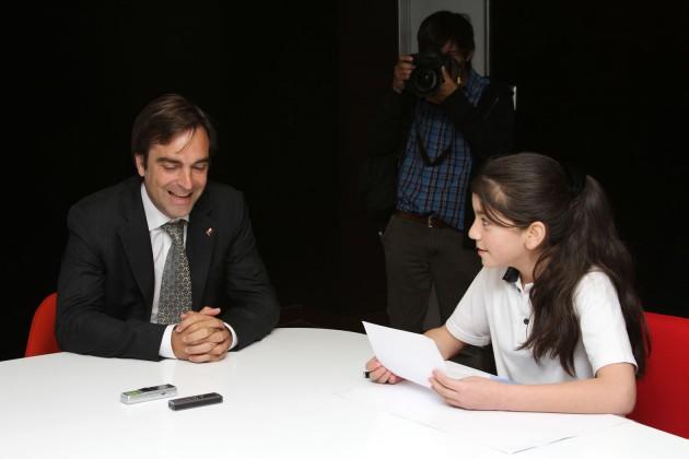 Ministro Cruz-Coke y la ganadora
