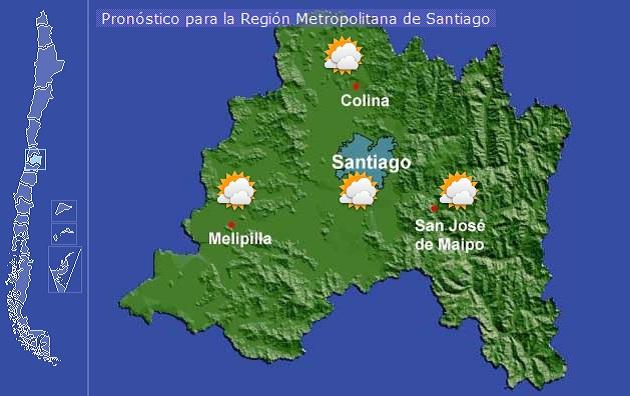 Averigua el pronóstico del tiempo en Chile durante el fin de semana ...