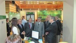 Visita del presidente del directorio de la ACHS